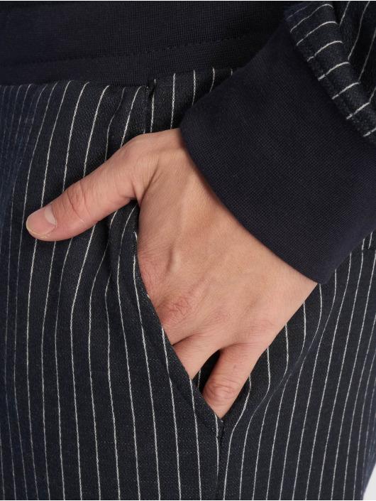 Criminal Damage Spodnie do joggingu Pinstripe niebieski