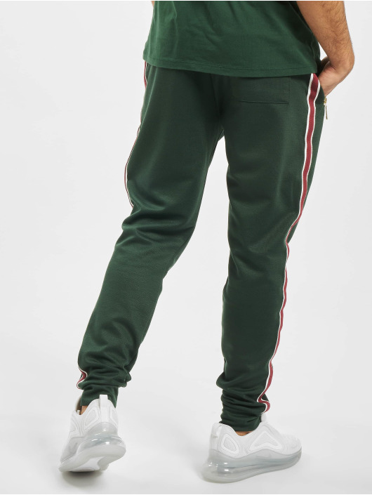 Criminal Damage Spodnie do joggingu Wise zielony