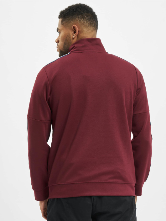 Criminal Damage Sweat & Pull Wise Pullover rouge