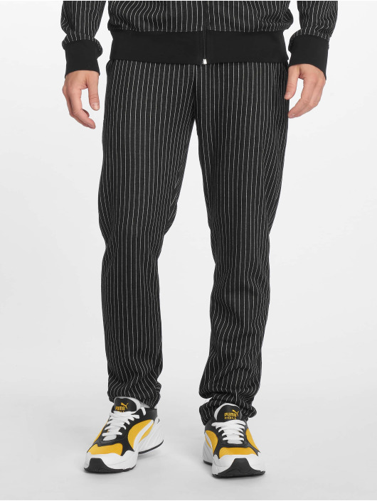 Criminal Damage Sweat Pant Pinstripe black
