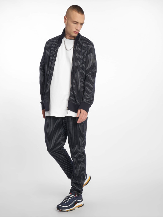 Criminal Damage Sweat Pant Pinstripe blue