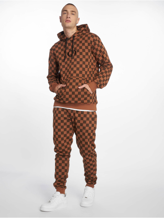 Criminal Damage Sweat Pant Amrose brown