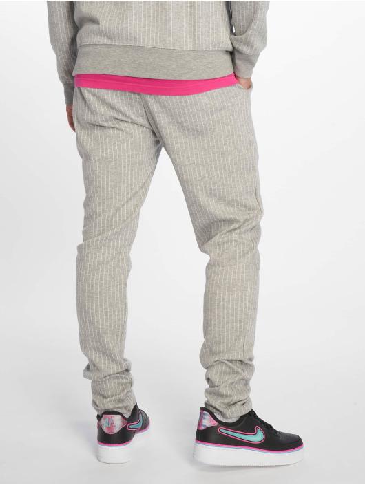 Criminal Damage Sweat Pant Pinstripe gray