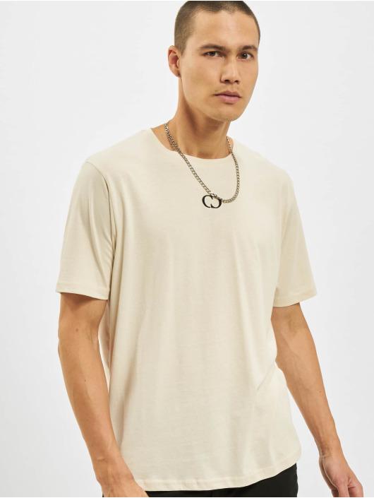 Criminal Damage t-shirt ECO beige