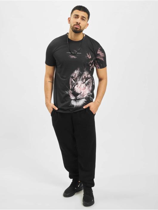 Criminal Damage T-Shirt Lion black