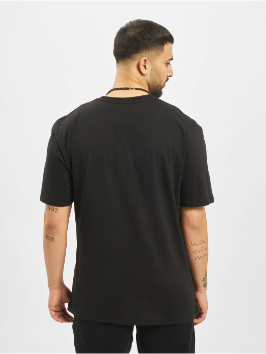 Criminal Damage T-Shirt Coordinate Oversize black