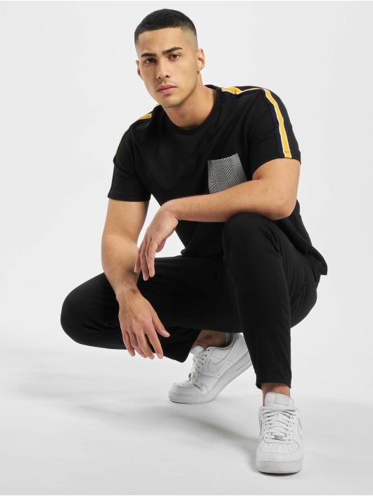 Criminal Damage T-Shirt Franco Pocket black