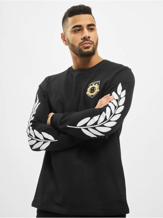 Criminal Damage T-Shirt manches longues Shield noir