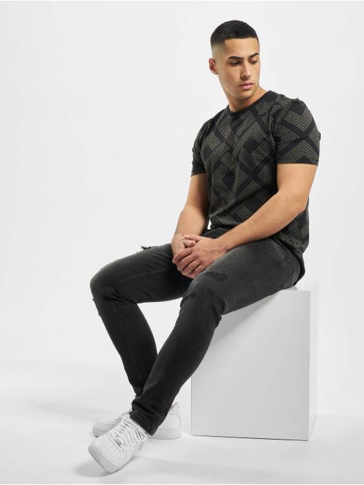 Criminal Damage T-Shirt Cd Roman noir
