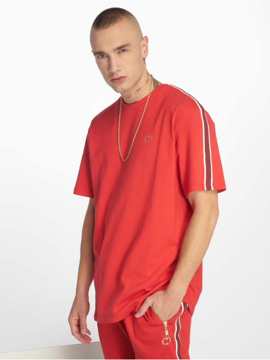 Criminal Damage T-Shirt Wise red
