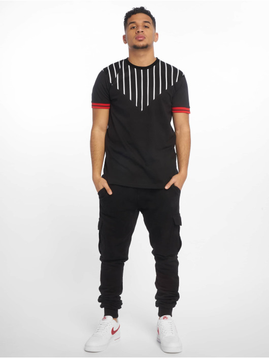 Criminal Damage T-Shirt Abbey schwarz