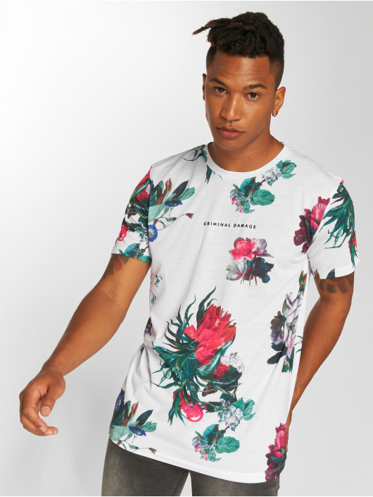 Criminal Damage T-shirts Carpel hvid