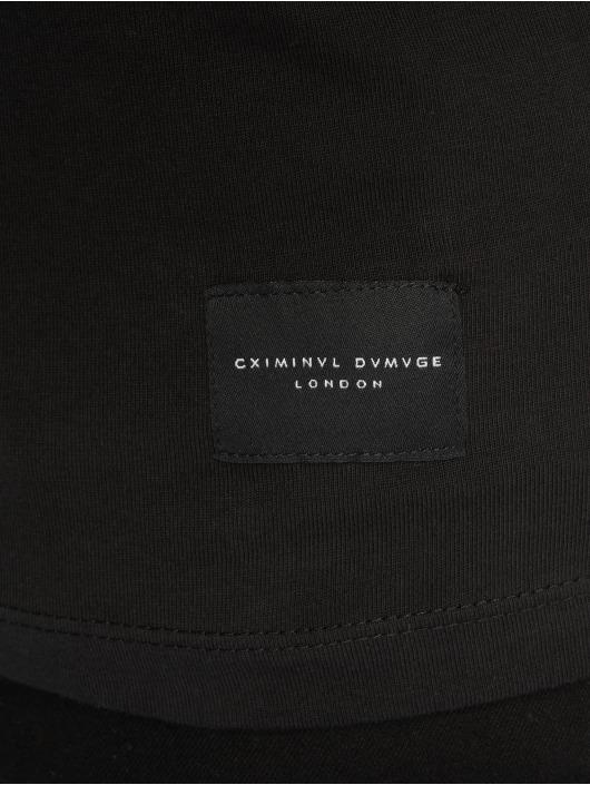Criminal Damage T-Shirty Mace czarny