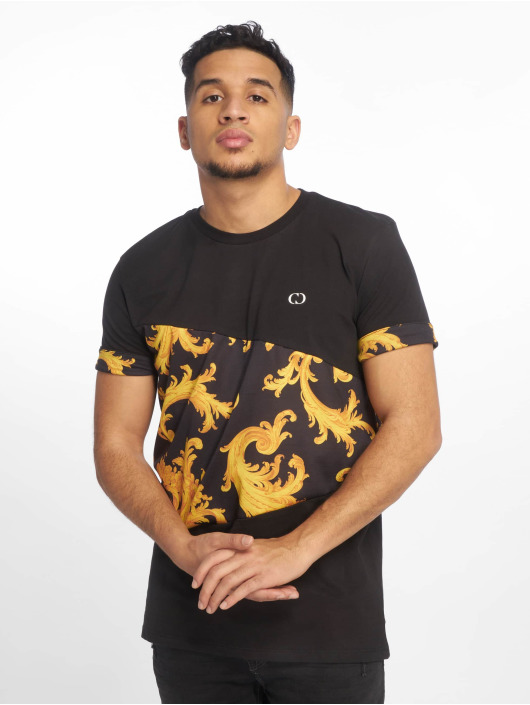 Criminal Damage T-Shirty Damage Rococo czarny