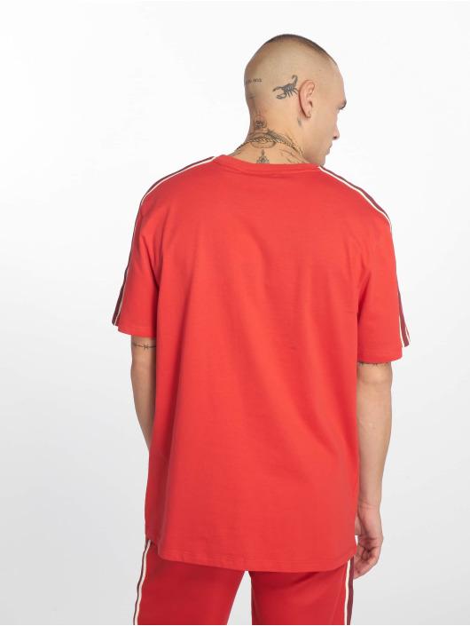 Criminal Damage T-Shirty Wise czerwony