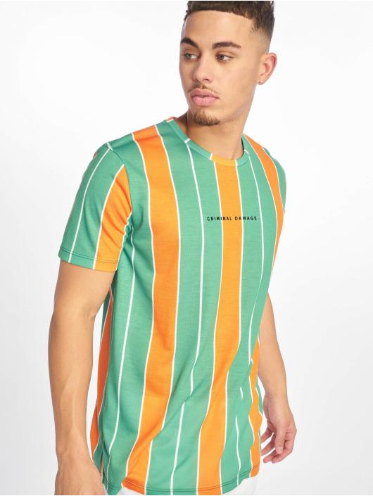 Criminal Damage T-skjorter Royston grøn