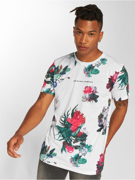 Criminal Damage T-skjorter Carpel hvit