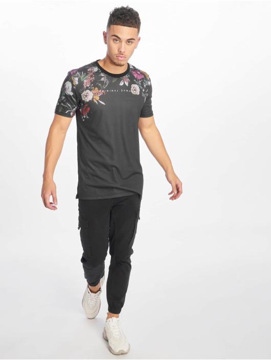 Criminal Damage T-skjorter Savanah svart