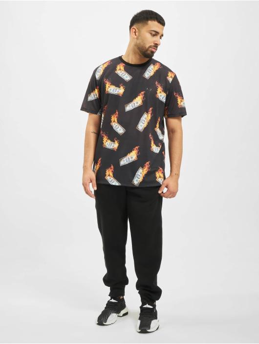 Criminal Damage T-skjorter Money Oversize svart