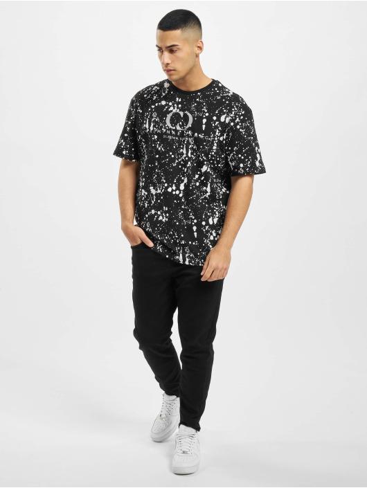Criminal Damage T-skjorter Cd Splatter svart