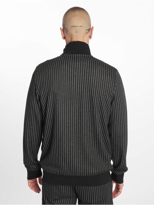 Criminal Damage Transitional Jackets Pinstripe svart