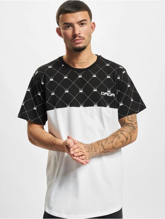 Dada Supreme Футболка Supreme Crown Pattern черный