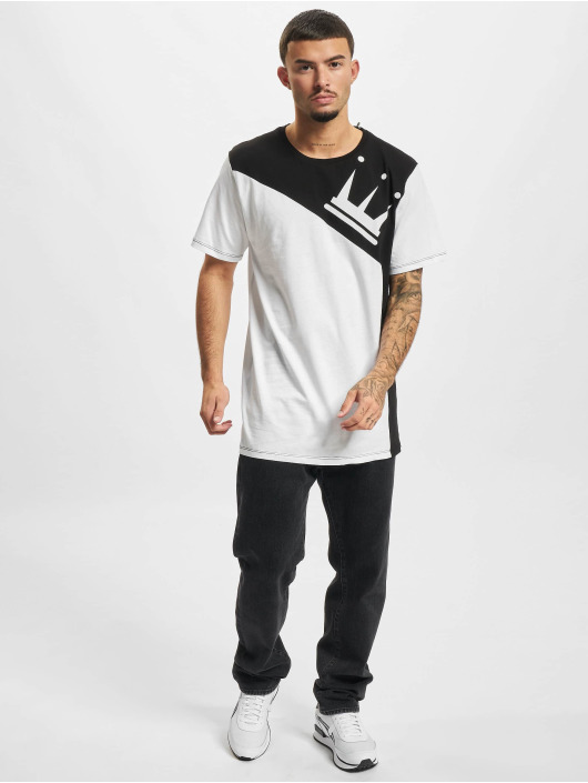 Dada Supreme Camiseta Color Blocking Crown blanco