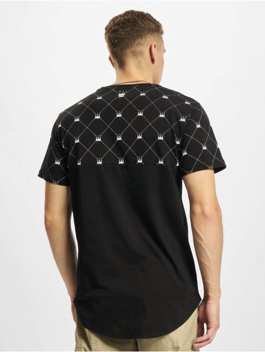 Dada Supreme Camiseta Crown Pattern negro