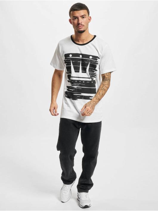 Dada Supreme T-shirt Painted Crown bianco