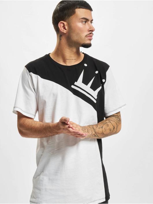 Dada Supreme T-Shirt Color Blocking Crown blanc