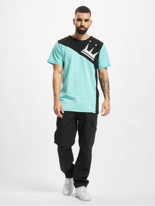 Dada Supreme t-shirt Color Blocking Crown blauw