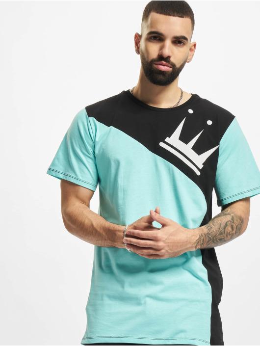 Dada Supreme T-Shirt Color Blocking Crown bleu
