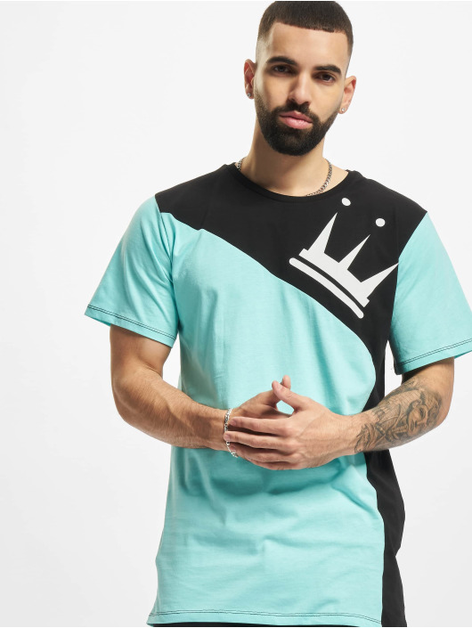 Dada Supreme T-Shirt Color Blocking Crown blue