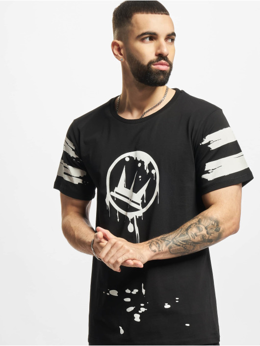 Dada Supreme T-shirt Circle Drip nero