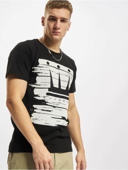Dada Supreme T-shirt Painted Crown nero