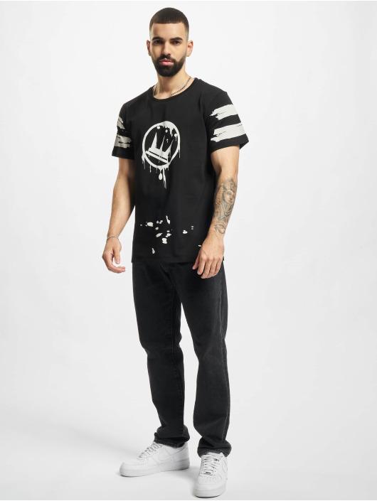Dada Supreme T-Shirt Circle Drip noir