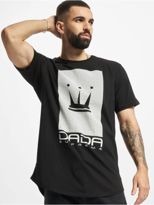 Dada Supreme T-Shirt Supreme Mesh Crown noir