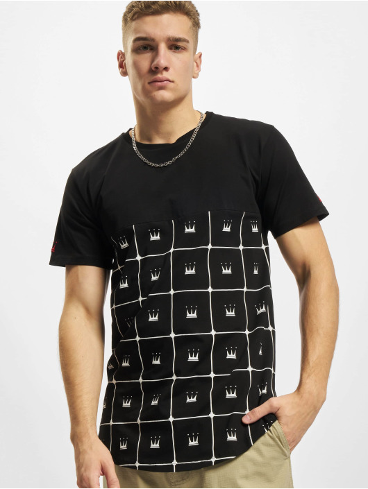 Dada Supreme T-Shirt Crown Pattern noir