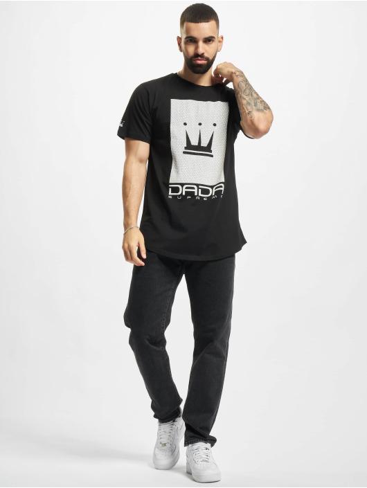 Dada Supreme T-Shirt Supreme Mesh Crown schwarz