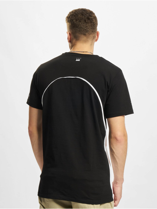 Dada Supreme T-Shirt Pipping schwarz