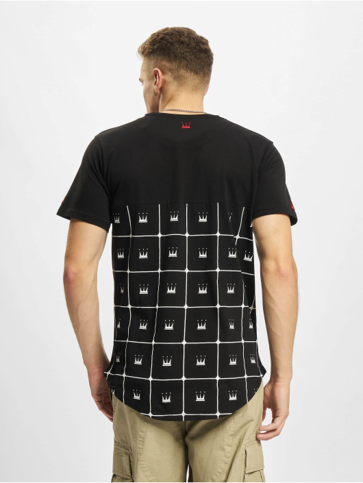 Dada Supreme T-shirt Crown Pattern svart
