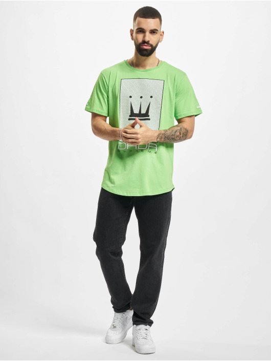 Dada Supreme T-shirt Mesh Crown verde