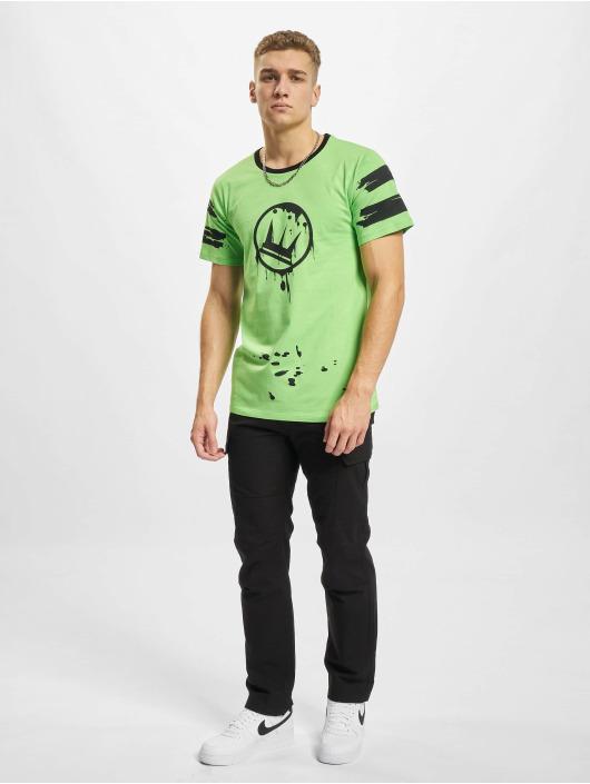 Dada Supreme T-Shirt Circle Drip vert