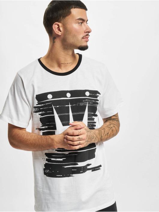 Dada Supreme T-shirt Painted Crown vit