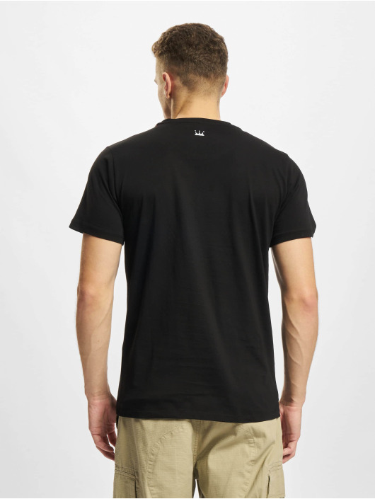 Dada Supreme t-shirt Painted Crown zwart