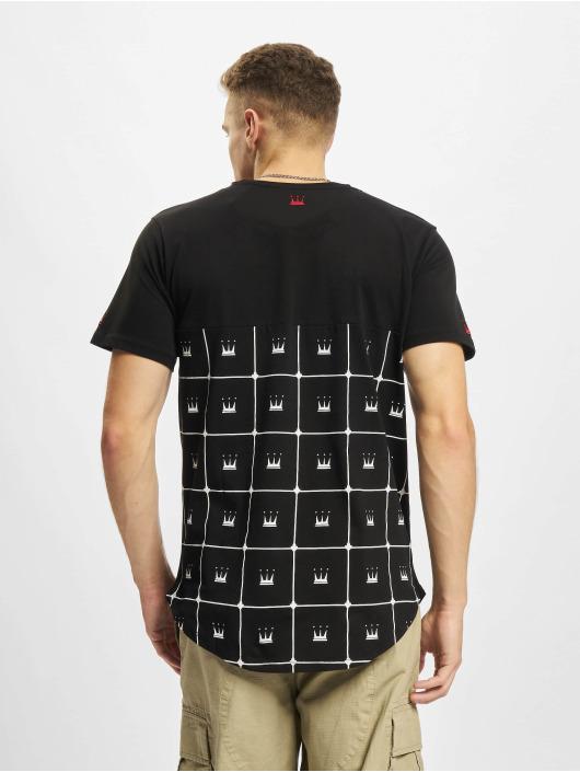 Dada Supreme t-shirt Crown Pattern zwart