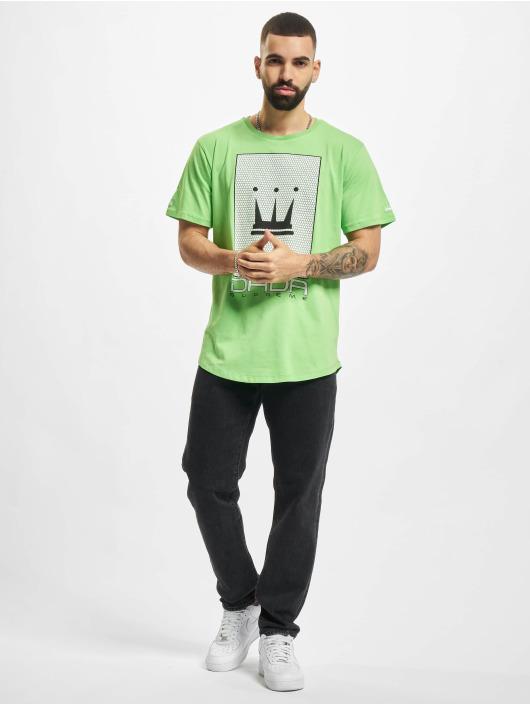 Dada Supreme T-shirts Mesh Crown grøn