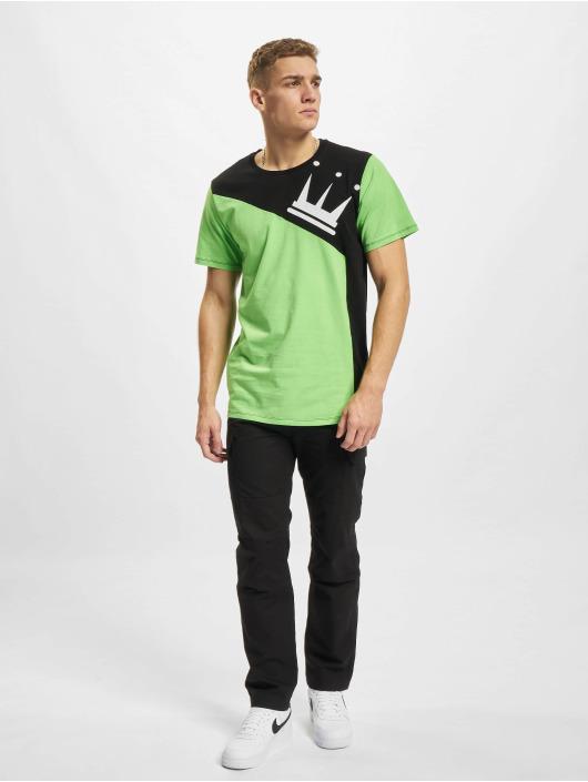 Dada Supreme T-shirts Supreme Color Blocking Crown grøn