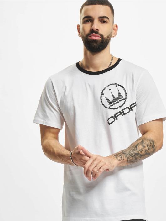 Dada Supreme T-shirts Basic Circle Crown hvid