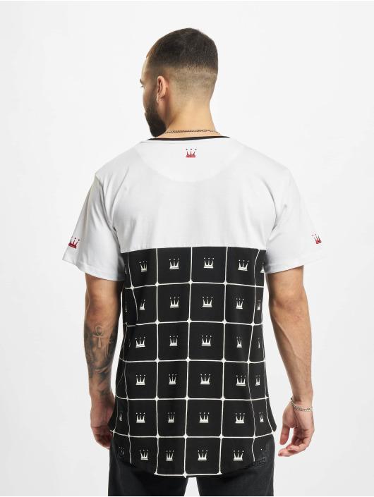 Dada Supreme T-Shirty Crown Pattern bialy